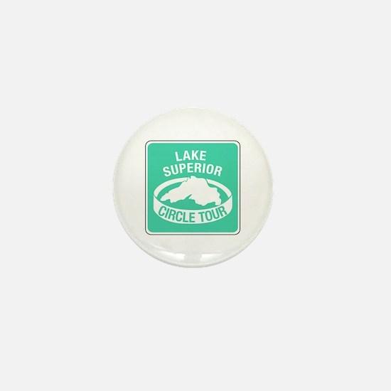 Lake Superior Circle Tour, Minnesota Mini Button