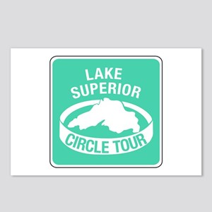 Lake Superior Circle Tour, Minnesota Postcards (Pa