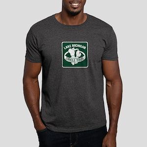 Lake Michigan Circle Tour, Wisconsin Dark T-Shirt