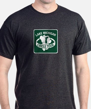 Lake Michigan Circle Tour, Wisconsin T-Shirt