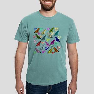 Rainbow Tigers Mens Comfort Colors® Shirt