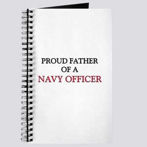 Proud Father Of A NAVY OFFICER Journal