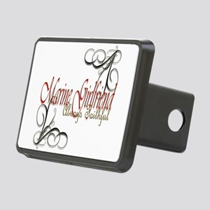 Swirl Marine Girlfriend Rectangular Hitch Cover