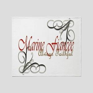 Fiancee Copy Throw Blanket