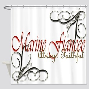 Fiancee Copy Shower Curtain