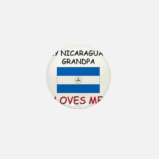 My Nicaraguan Grandpa Loves Me Mini Button