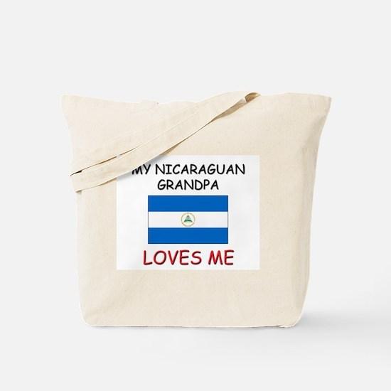 My Nicaraguan Grandpa Loves Me Tote Bag