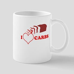 I Heart Carbs Mug