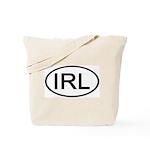 Ireland - IRL - Oval Tote Bag