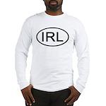 Ireland - IRL - Oval Long Sleeve T-Shirt