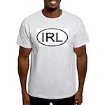 Ireland - IRL - Oval Ash Grey T-Shirt