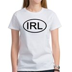 Ireland - IRL - Oval Women's T-Shirt