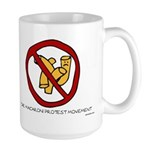 Macaroni Protest Movement Large Mug