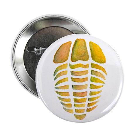 """Yellow Trilobite 2.25"""" Button"""