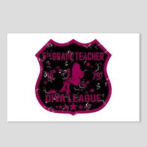 5th Grade Teacher Diva League Postcards (Package o
