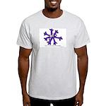 Itchy purple snowflake Light T-Shirt