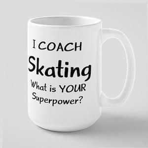 skating coach 15 oz Ceramic Large Mug