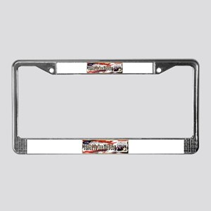 Inauguration License Plate Frame