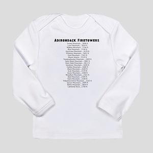 Adirondack Firetower (List) Long Sleeve T-Shirt