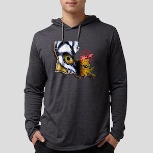 Certified Cajun Tiger Eye LA Long Sleeve T-Shirt