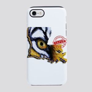 Certified Cajun Tiger Eye LA iPhone 8/7 Tough Case