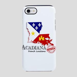 Acadiana French Louisiana Ca iPhone 8/7 Tough Case