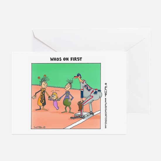 """""""...On First"""" Blank Cards (Pkg. of 6)"""