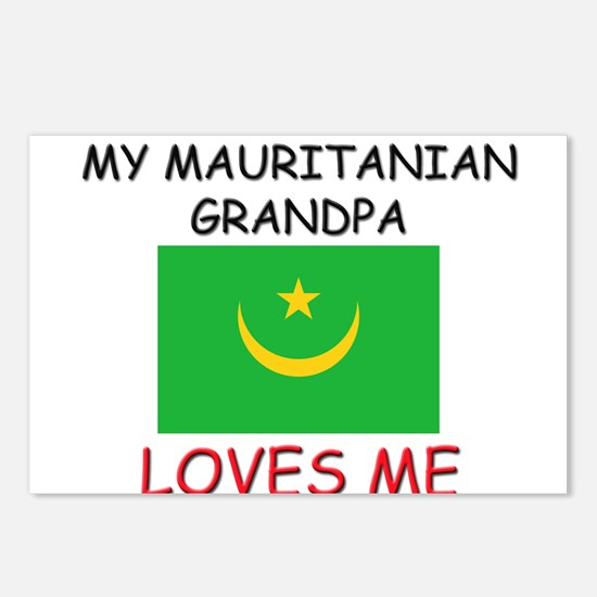 My Mauritanian Grandpa Loves Me Postcards (Package
