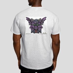 Three Face - Ash Grey T-Shirt