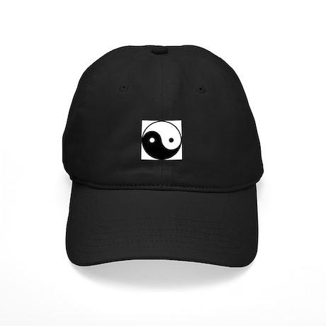 Yin Yang Black Cap