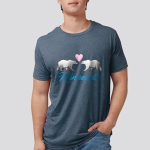 Minnesota Polar Bear Heart T-Shirt
