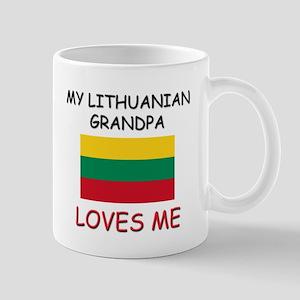My Lithuanian Grandpa Loves Me Mug