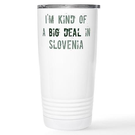 Big deal in Slovenia Stainless Steel Travel Mug