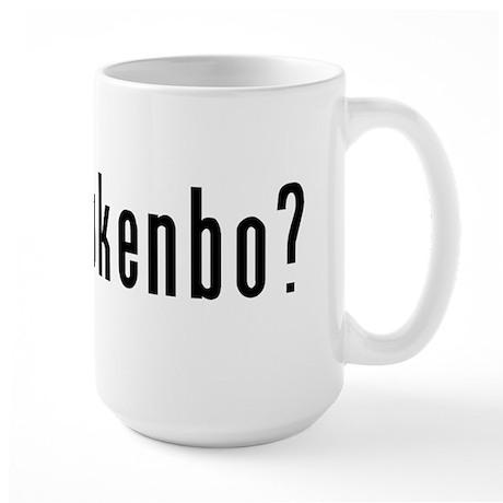got kajukenbo? Large Mug