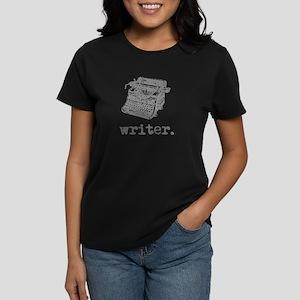 Type-Writer (gray) Women's Dark T-Shirt