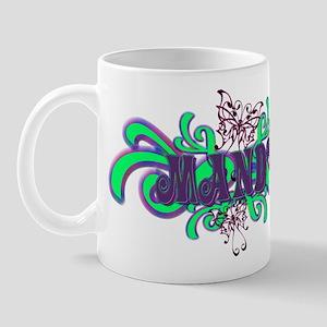 Mandy's Butterfly Name Mug