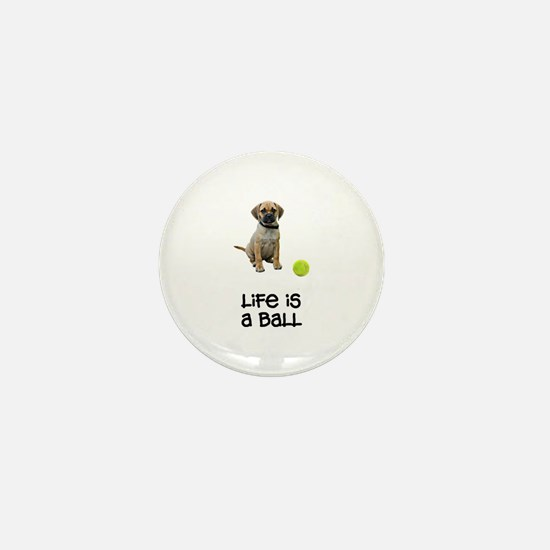 Puggle Life Mini Button