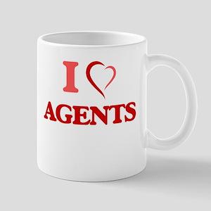 I love Agents Mugs