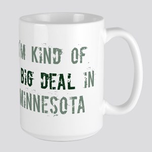 Big deal in Minnesota Large Mug