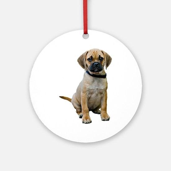 Puggle Ornament (Round)