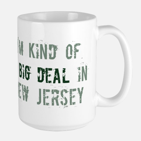 Big deal in New Jersey Large Mug