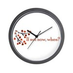 If not now, when? Wall Clock