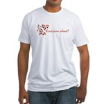 If not now, when? Fitted T-Shirt