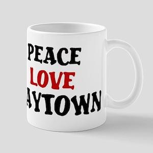 Peace Love Baytown Mug
