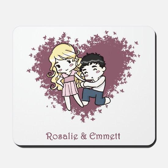 Rosalie & Emmett Mousepad