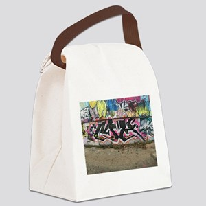 graffiti by me Canvas Lunch Bag