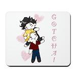 Jasper/Alice - Gotcha! Mousepad