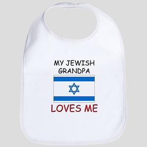 My Jewish Grandpa Loves Me Bib