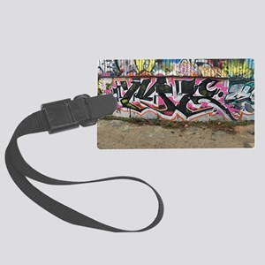 graffiti by me Large Luggage Tag