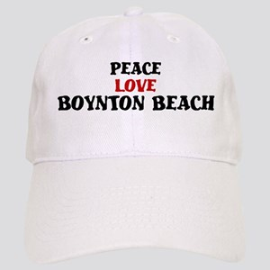 Peace Love Boynton Beach Cap